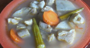 Fish broth in sweet T&T for Sweet TnT Magazine, Culturama Publishing Company, for news in Trinidad, in Port of Spain, Trinidad and Tobago, with positive how to photography.