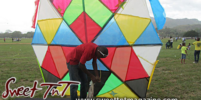Mad bull kite by Nadia Ali in Savannah for Let's go fly a kite and Are you bright about kites articles, Sweet T&T, Sweet TnT, Trinidad and Tobago, Trini, vacation, travel