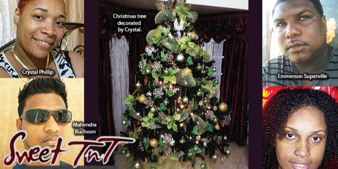 Christmas comments by Crystal Phillip, Mahendra Buchoon, Emmerson Superville, Nikauleene Andrews by Kielon Hilaire in Sweet T&T, Sweet TnT, Trinidad and Tobago, Trini Christmas list
