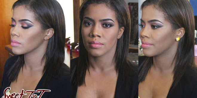 Biohacking: How the beauty industry is transforming, Cassandra Regis. Makeup by Brianna Taylor.