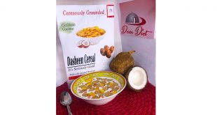 Dasheen and Cassava cereal from Tobago