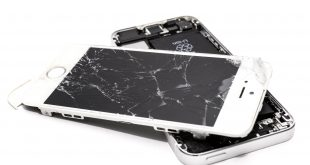 Repair your devices and save money, wrecked iphone