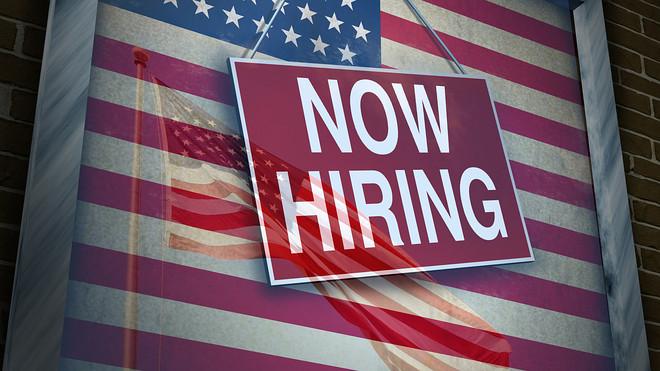Jobs in USA, employment, work
